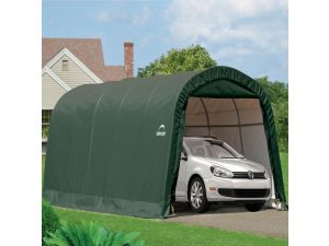 Rowlinson Shelterlogic 10x20 Round Top Auto Shelter