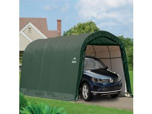 Rowlinson Shelterlogic 12x20 Round Top Auto Shelter