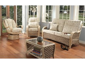 Desser Milan 3 Piece Suite Inc. 3+1+1 Seater Conservatory Set