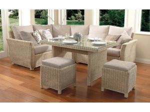 Desser Dijon Casual 6 Piece Dining Set with Table and Stools