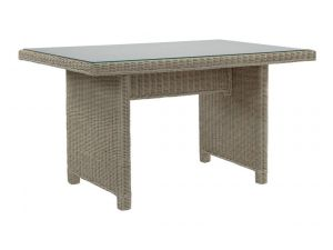 Desser Occasional Table with Glass