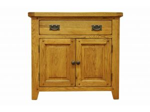 Stanley Oak Natural Oak Small Sideboard with Drawer