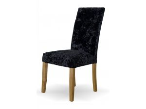 Stockholm Deep Crushed Black Dining Chair