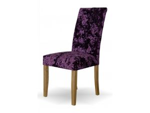 Stockholm Deep Crushed Purple Dining Chair