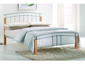 Tetras 3ft Single White Metal Bed