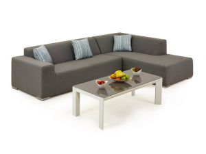 Maze Divano Eden Passion Chaise Sofa Set with 2 Seat Right End And Coffee Table