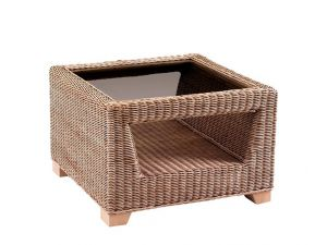 Cane Luca Square Coffee Table