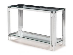 Fairmont Vasari Clear Glass Console Table