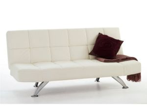 Serene Venice Orchid White Sofa Bed