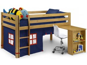 Julian Bowen Wendy Sleeper Solid Pine Bunk Bed