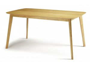 Serene Westminster Oak Large Fixed Dining Table