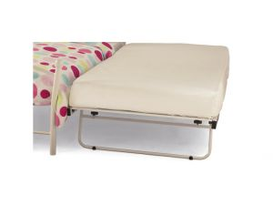 Serene Guest 3ft Single Pink Gloss Metal Bed