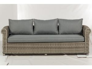 Royalcraft Windsor Deluxe Chunky 3 Seater Rattan Sofa