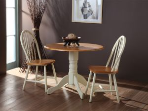 Brecon Buttermilk Wooden Dining Table