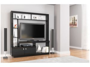 Birlea Zuma Black Entertainment Unit