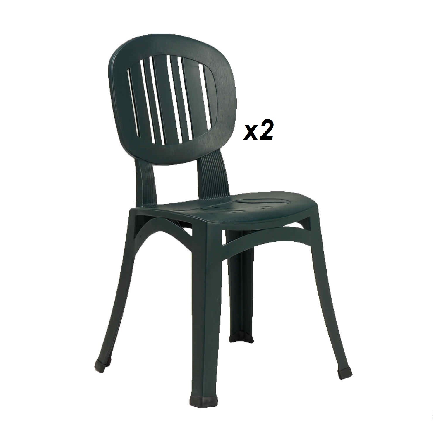 Photo of Europa europa leisure elba chair green -pack of 2-