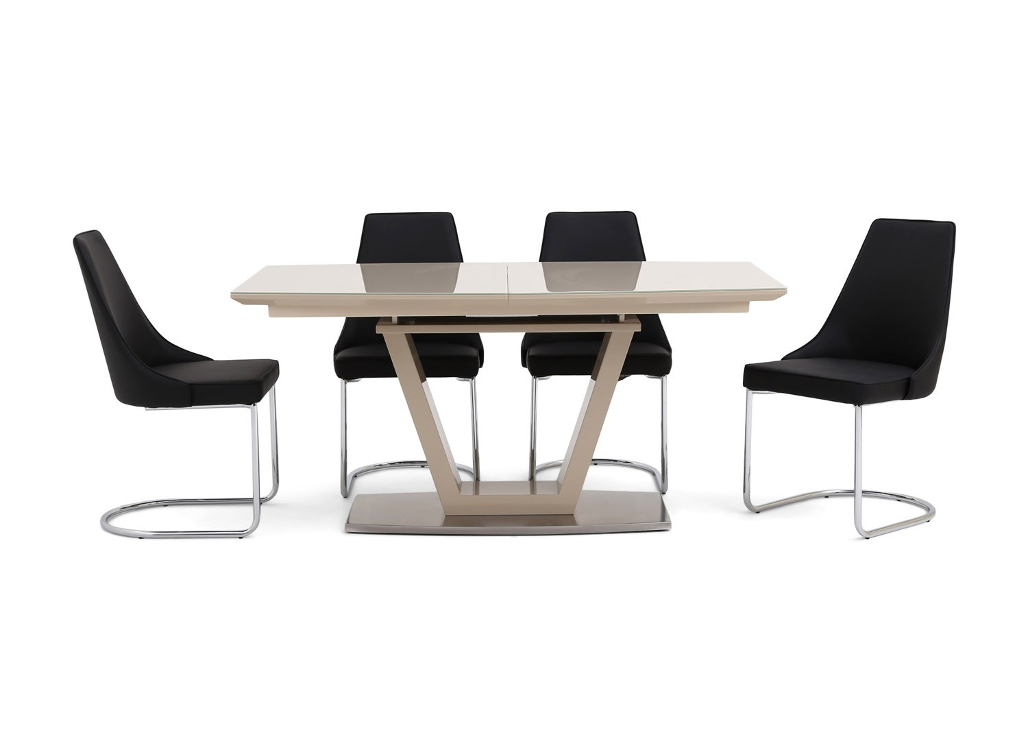 https://www.firstfurniture.co.uk/pub/media/catalog/product/f/a/fairmont_valente_ext_cream_high_gloss_dining_table_6_mya_grey_chairs.jpg