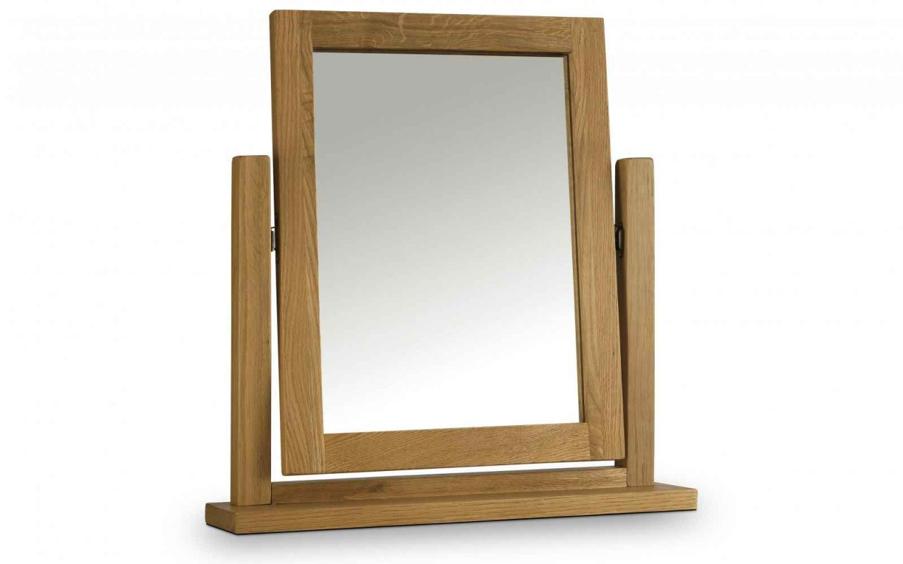 Photo of Julian bowen marlborough oak dressing table mirror