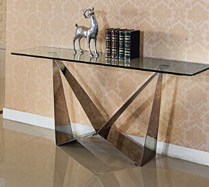 Fairmont Florentina Glass Console Table