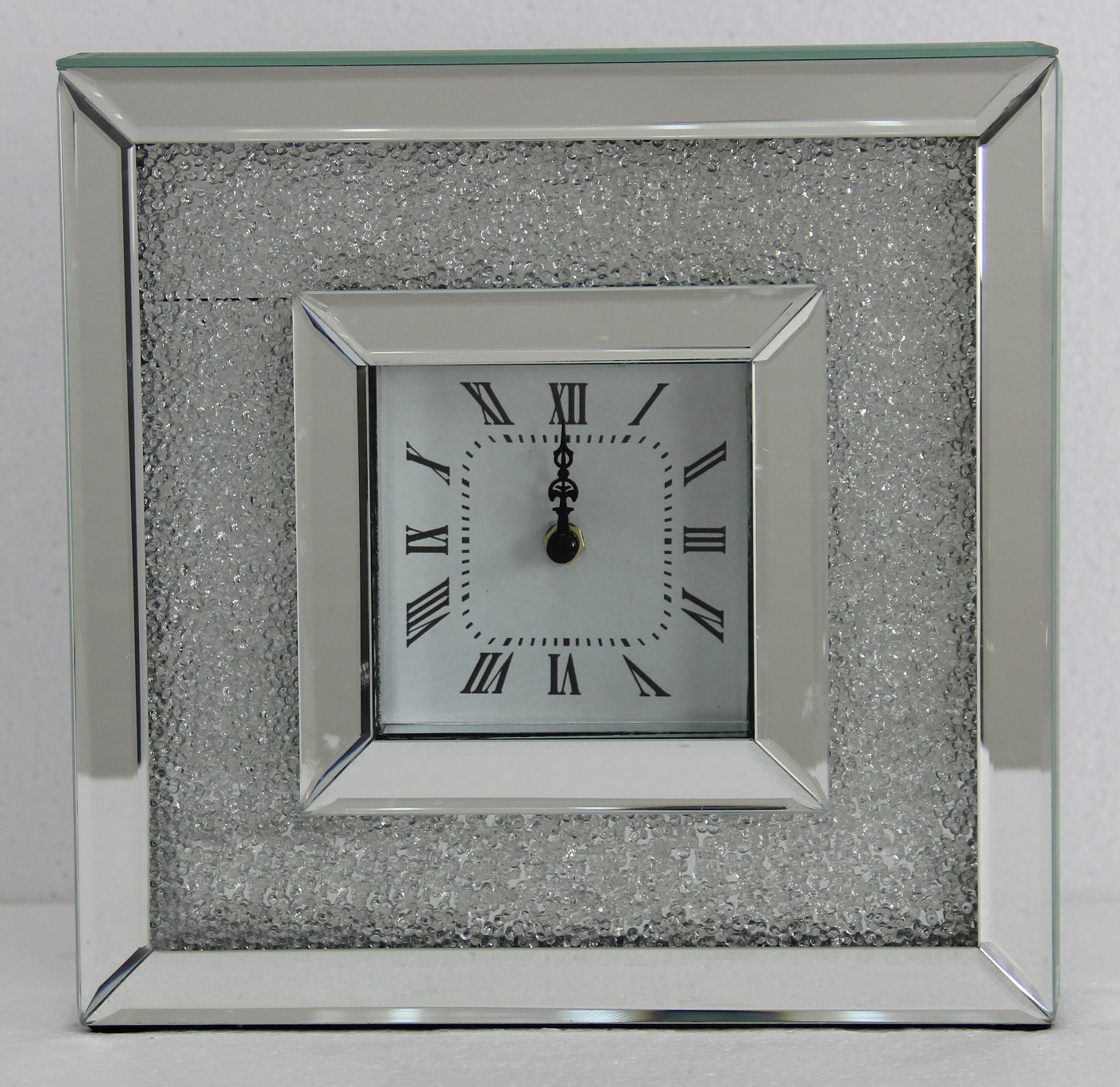 Photo of Fairmont glam 26cm mirror mantle clock