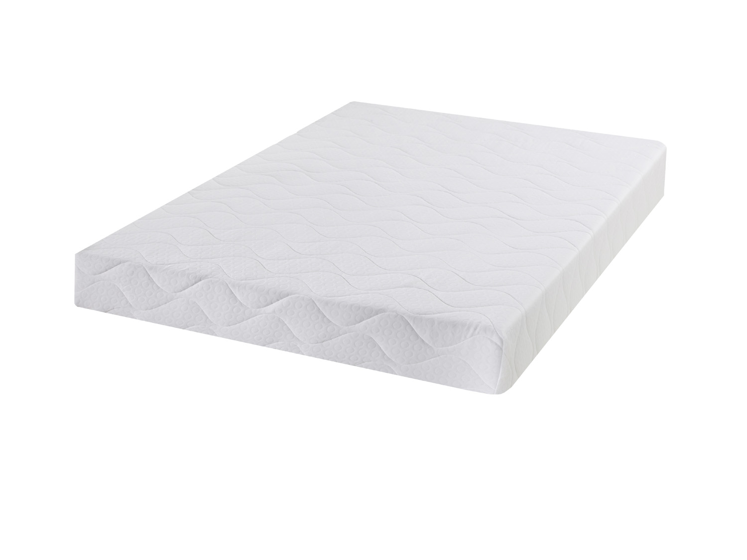 Pureflex 3ft single memory infusion quilted mattress