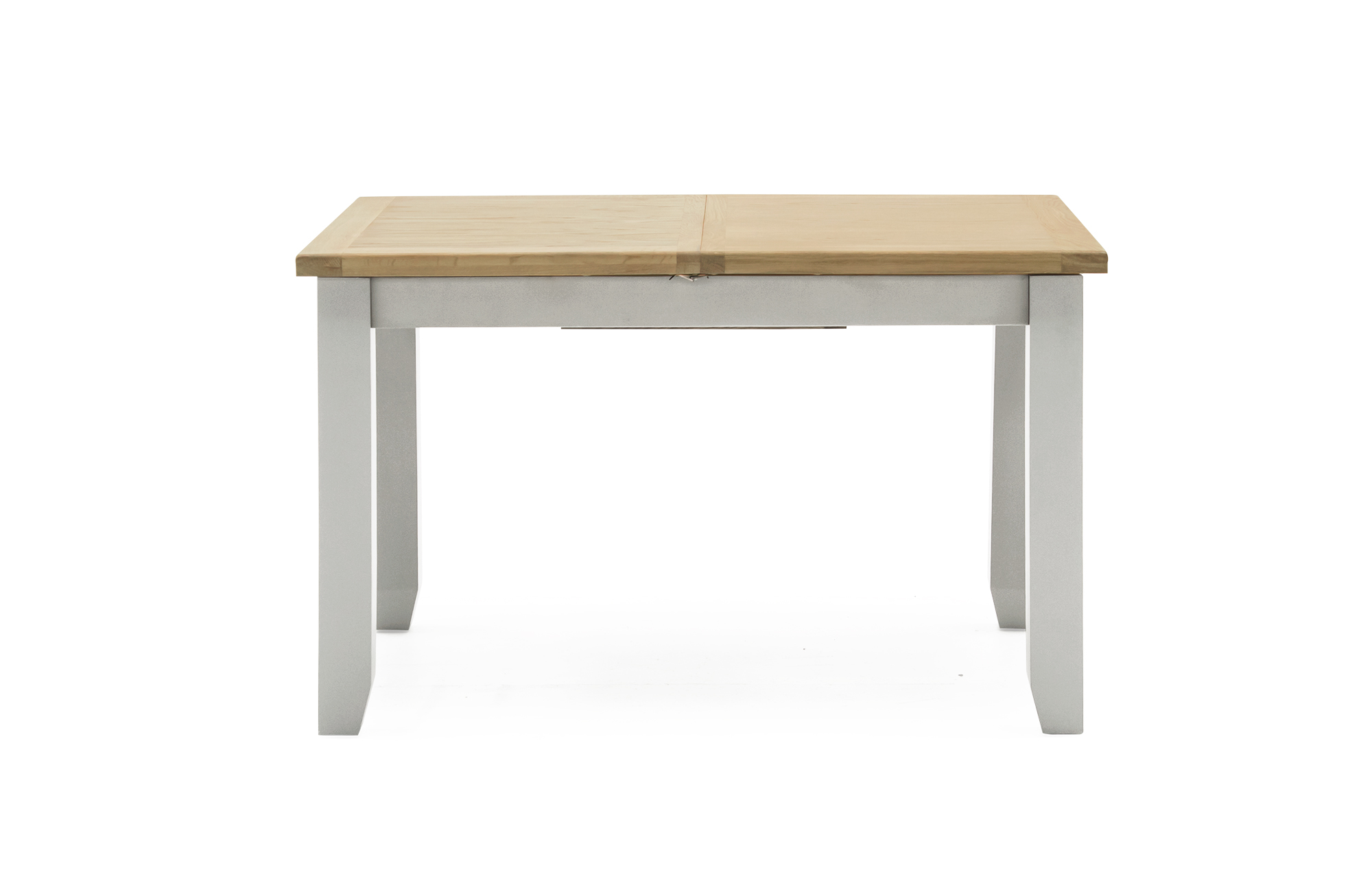 Ferndale Grey Painted with Oak Ext. 195cm Dining Table