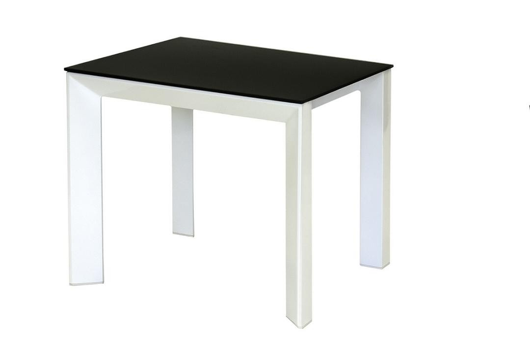 Photo of Mobo black glass lamp table