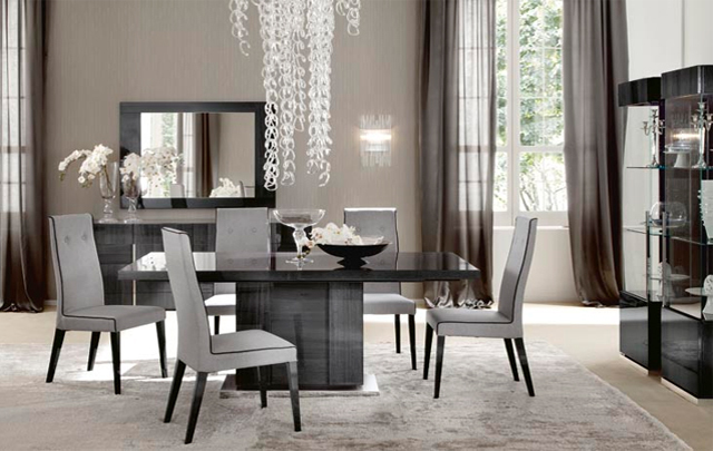 Alf Italia Monte Carlo Small Extending Dining Table + 6 Palace chairs
