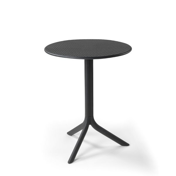 Europa Step Bistro Table in Anthracite