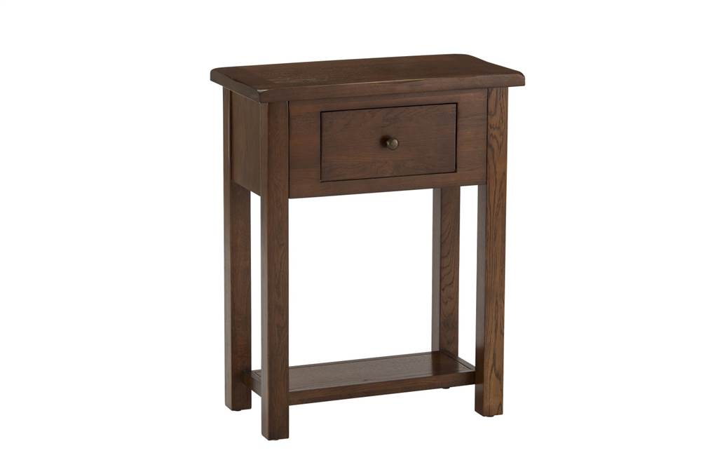 Riva Oak 1 Drawer Console Table