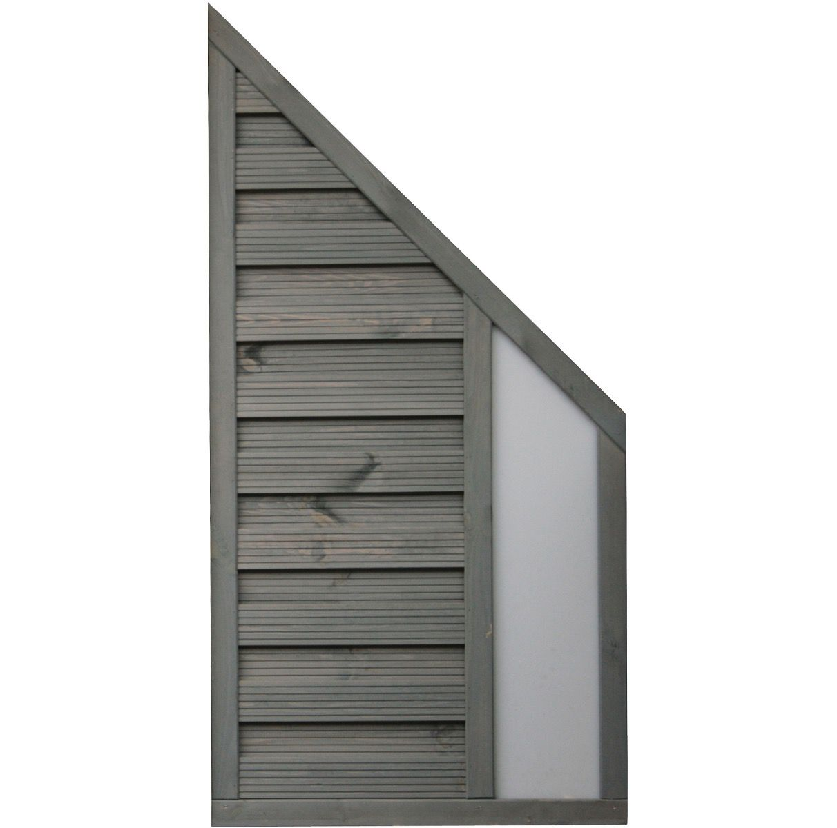 Rowlinson 6x3 Palermo Angled Screen Opaque Infill