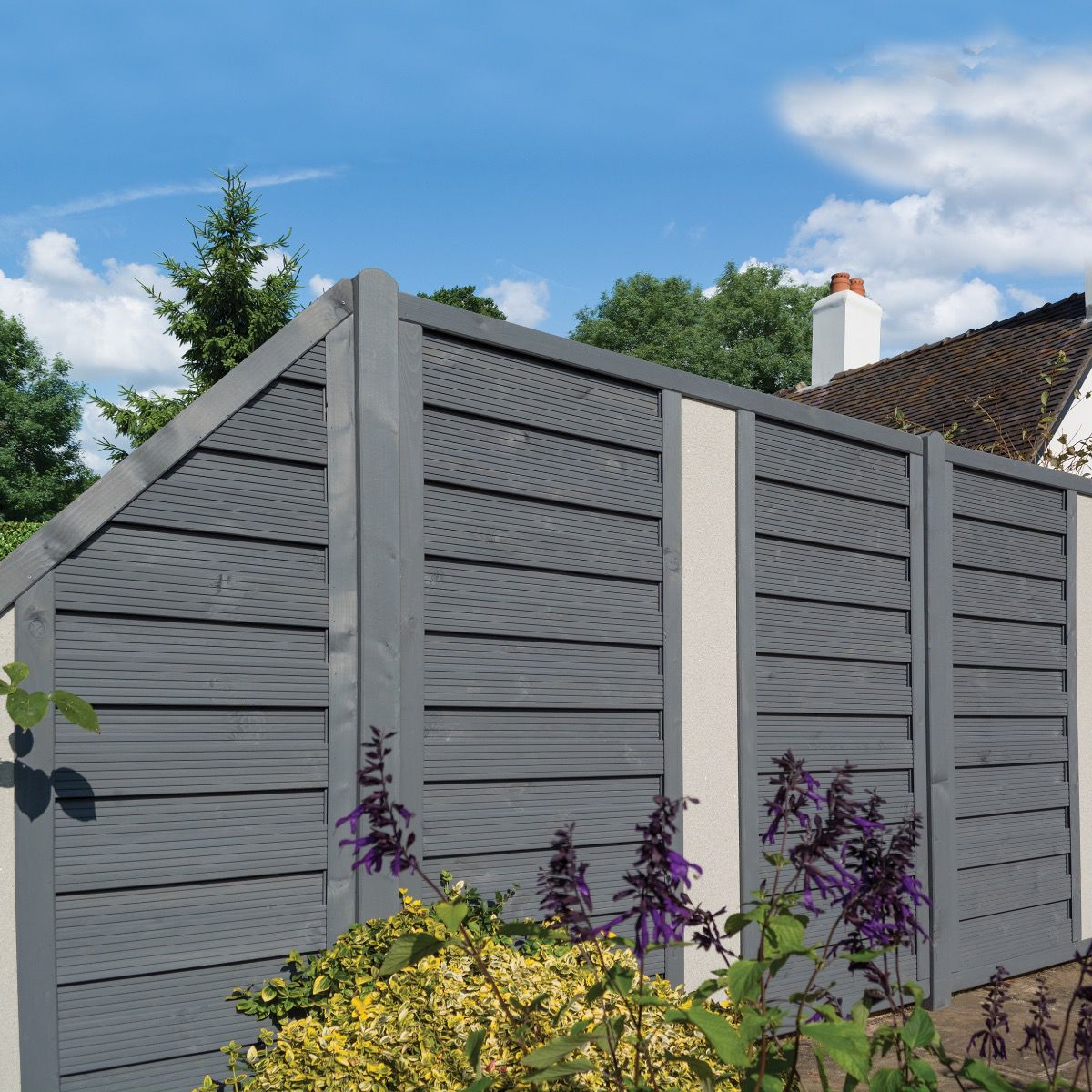 Rowlinson 6x6 Palermo Screen Solid Infill