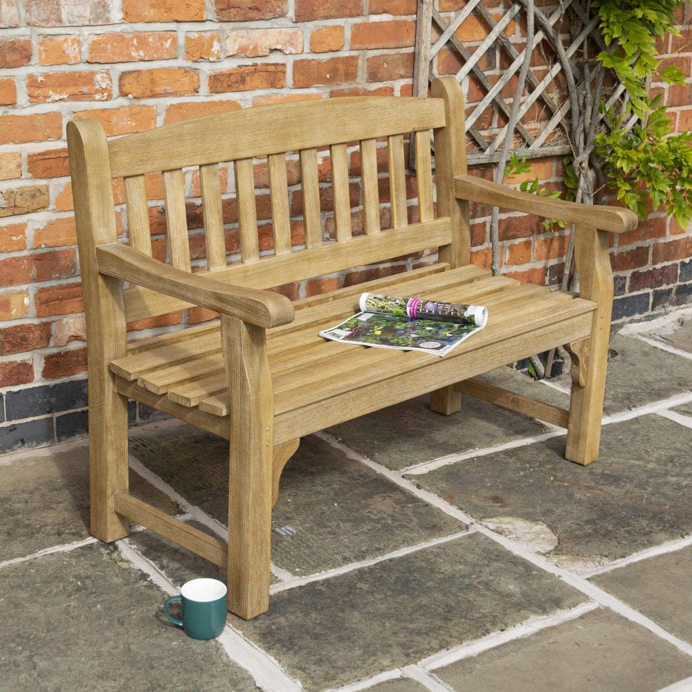 Rowlinson Tuscan 1.2m 4ft Wooden Bench