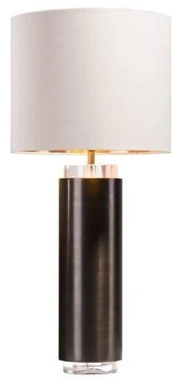 RV Astley April Crystal and Brass Table Lamp