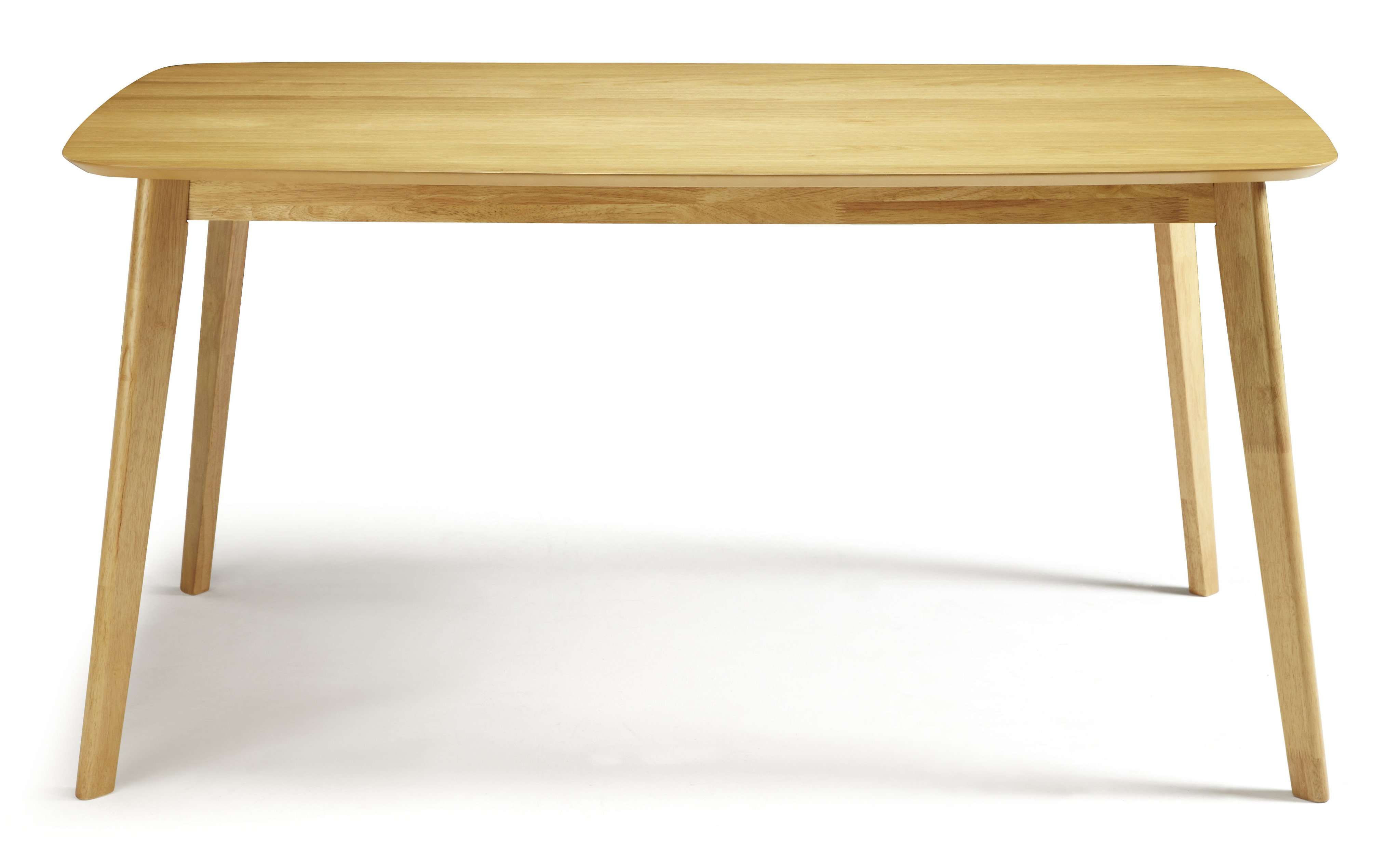 Serene Westminster Oak Small Fixed Dining Table
