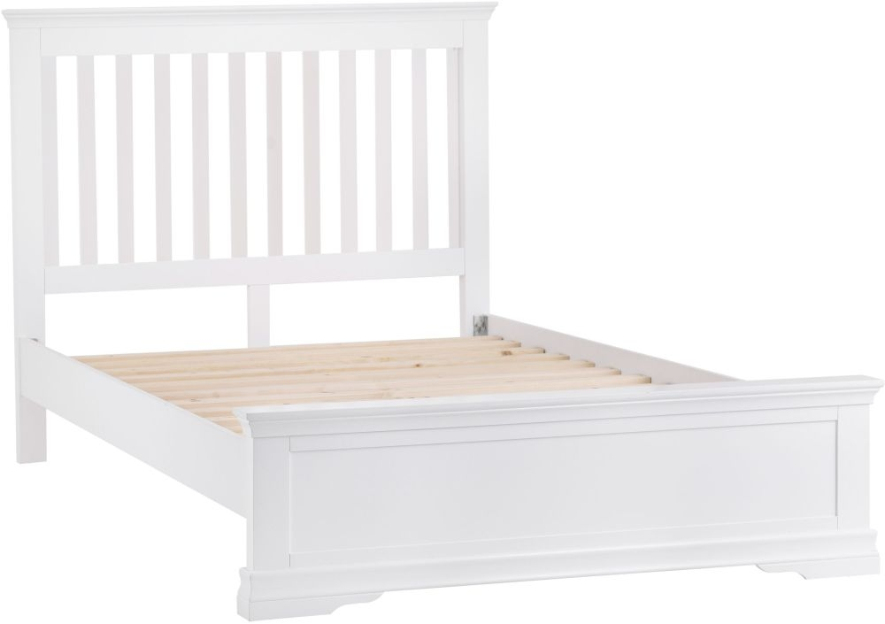 Steward White Wooden 3ft Single Bed